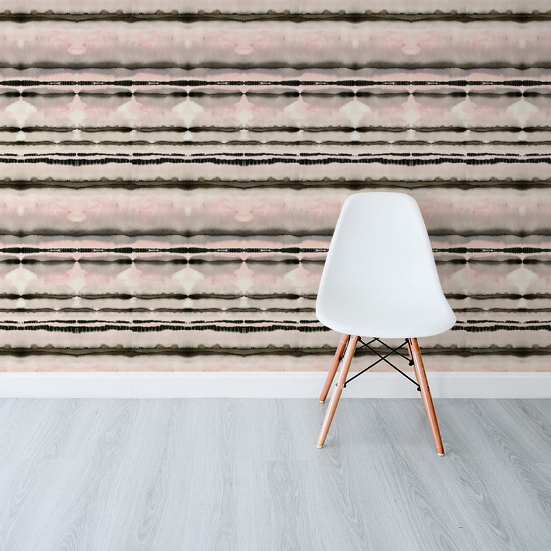 Watercolours Stripe Nude