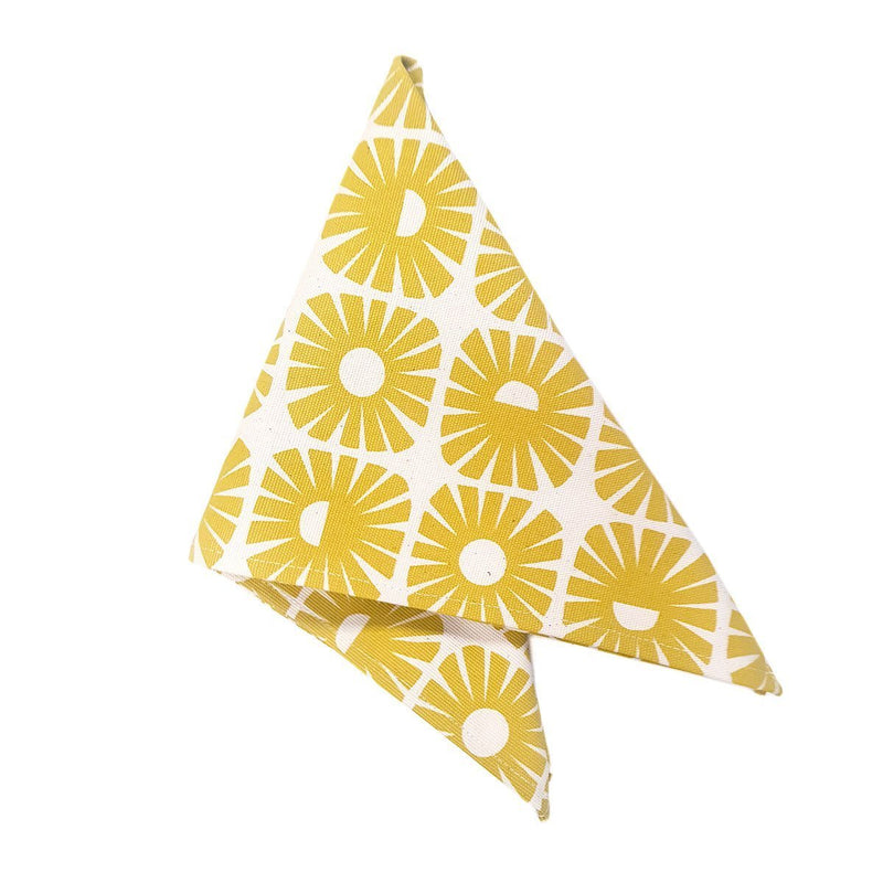SUNSHINE NAPKIN SET OF 2 by Skinny laMinx at SARZA. LINENS, napkin, napkins, Skinny laMinx, sunshine, tableware