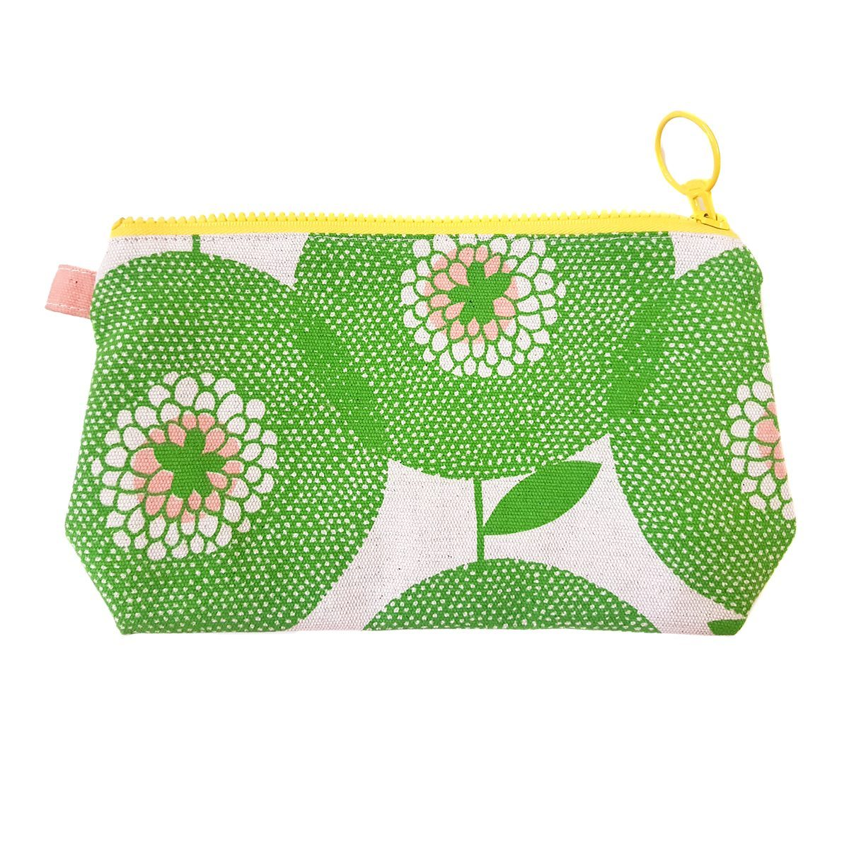 FLOWER FIELDS STASH BAG by Skinny laMinx at SARZA. accessories, accessory bag, accessory bags, bags, Brise Soleil, flower fields, penny black, purses, Skinny laMinx, stash bags, zip pouch, zip pouches