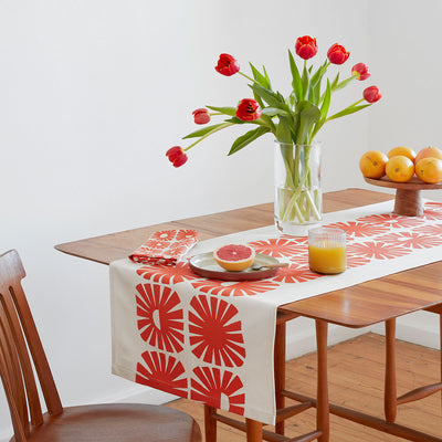 SUNSHINE TABLE RUNNER by Skinny laMinx at SARZA. LINENS, runner, runners, Skinny laMinx, sunshine, table, table runner, table runners, tableware