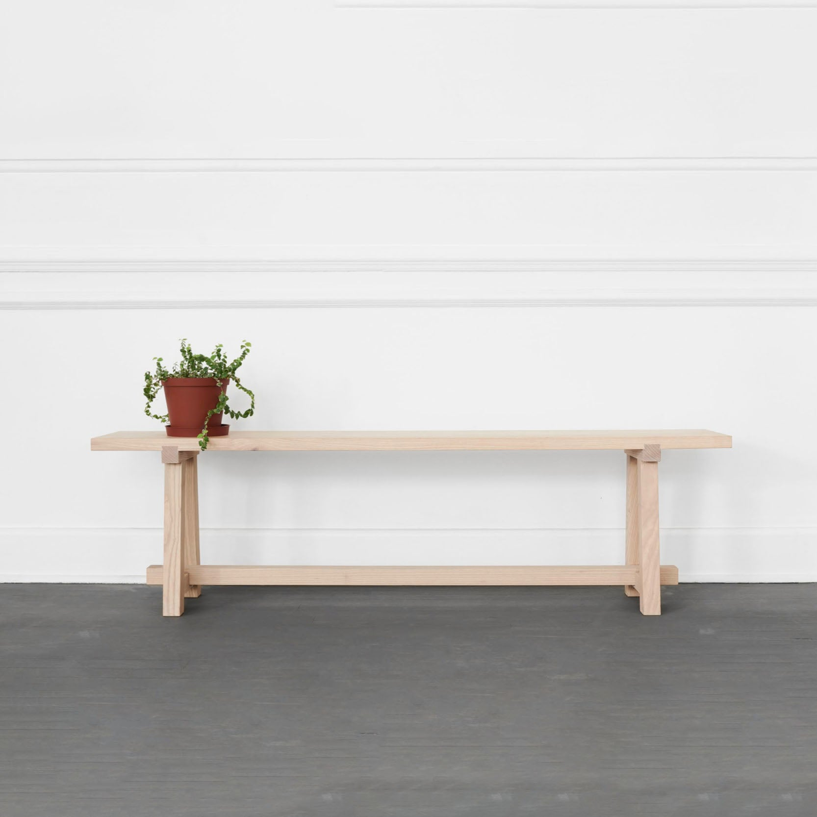 HARVEST SKINNY SEATING BENCH by James Mudge at SARZA. Benches, furniture, Harvest Tables, James Mudge, Seating Benches, Skinny, tables