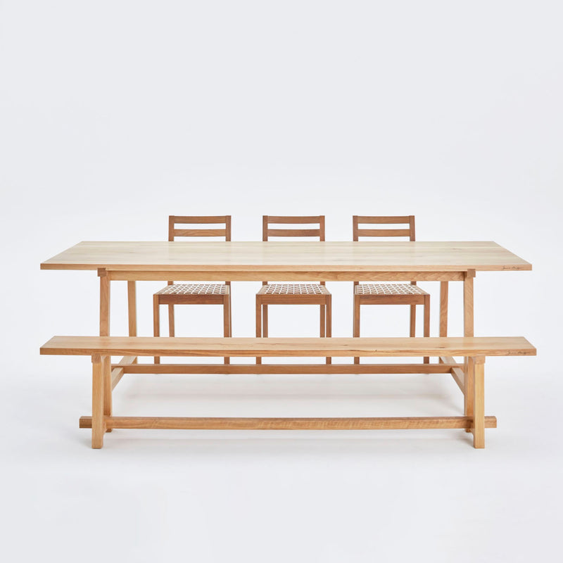 HARVEST SKINNY DINING TABLE by James Mudge at SARZA. dining tables, furniture, Harvest Tables, James Mudge, Skinny, tables