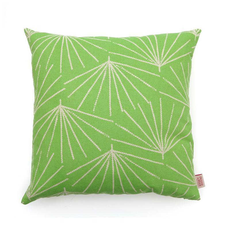 SKINNY LAMINX USA NEW YORK PALMETTO THROW PILLOW