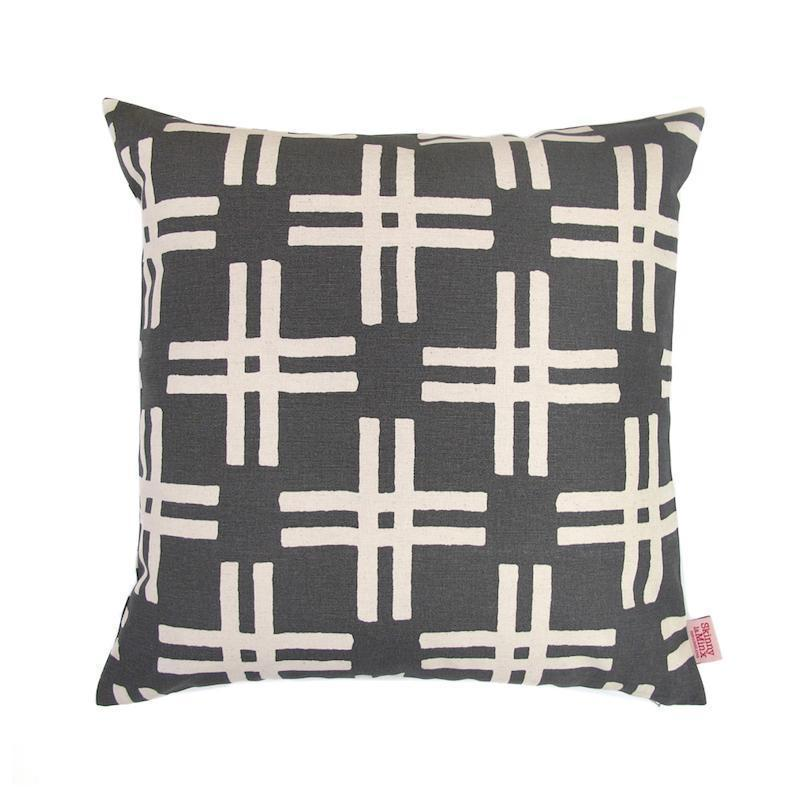 SKINNY LAMINX USA NEW YORK WEFT THROW PILLOW
