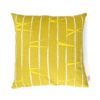 SKINNY LAMINX USA NEW YORK ZIGZAG THROW PILLOW
