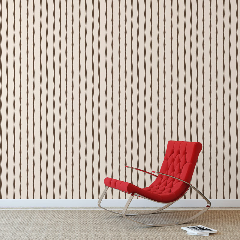Brancusi Taupe by Robin Sprong at SARZA. Geometric, Robin Sprong, Skinny laMinx, Wallpaper
