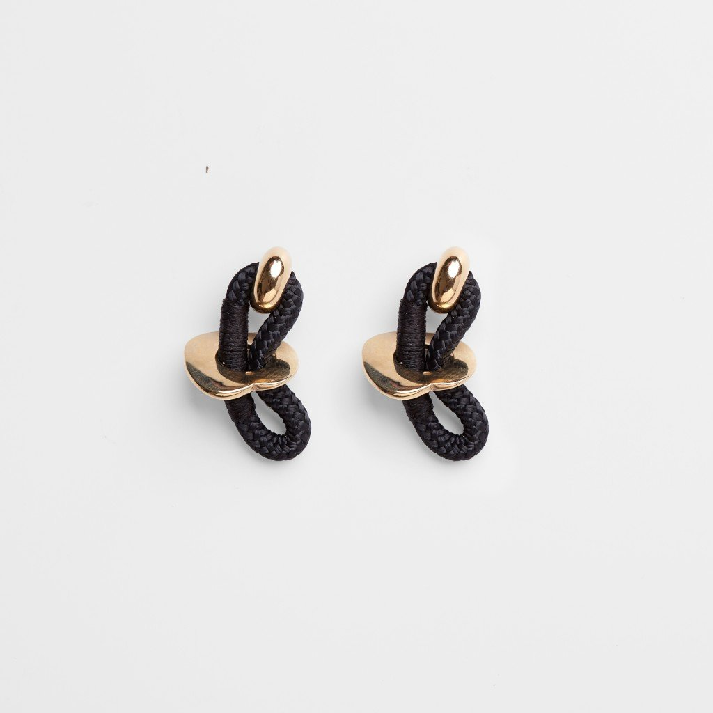 SMALL HIEROGLYPH EARRINGS