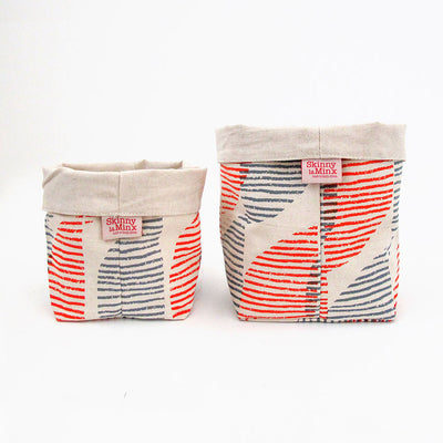 SWAY SOFT BUCKET by SKINNY LAMINX. Use as a planter or to hold a variety of things such as hair accessories, baked goods etc. Designed and made in Cape Town, South Africa.
