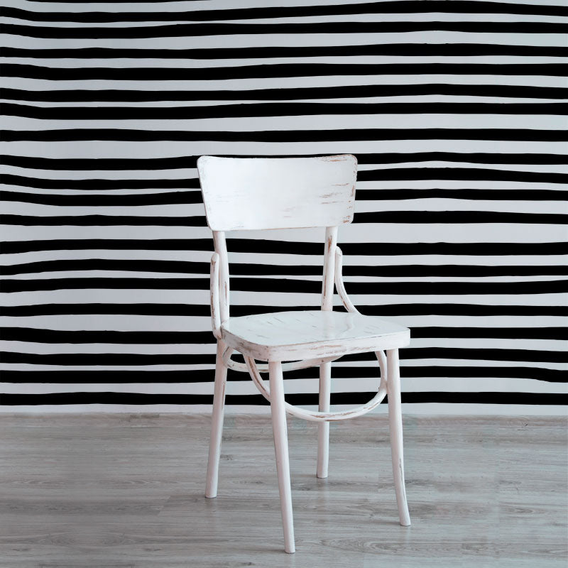 Stripes – Black on White