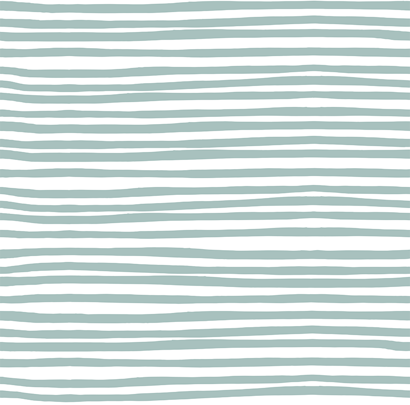 Stripes – Blue on White
