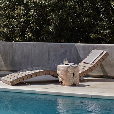 UMTHI SUN LOUNGER by Meyer Von Wielligh at SARZA. furniture, Meyer Von Wielligh, Outdoor, Sun lounger, Umthi Range