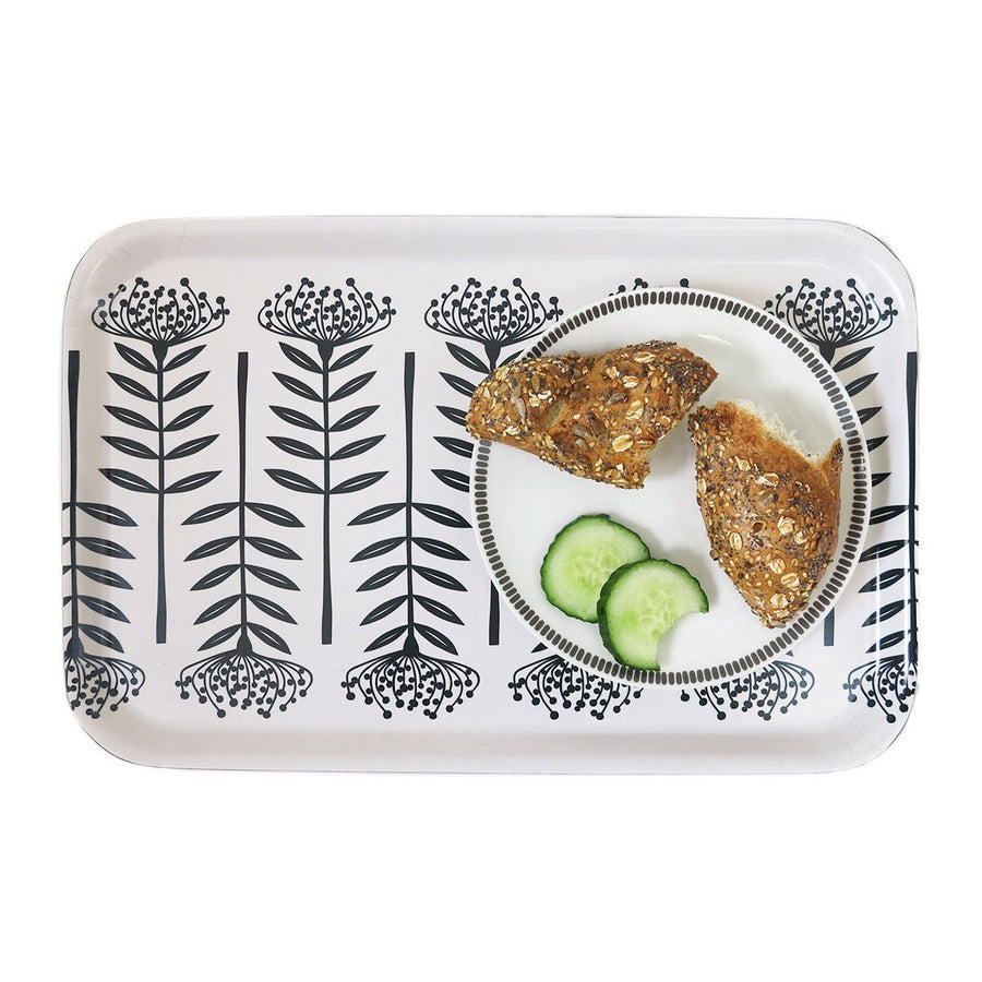 TALL PROTEA MELAMINE SERVING TRAY