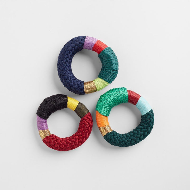 THICK NDEBELE BRACELET BY PICHULIK JEWELRY. Intentional and ethical multi coloured bracelets.