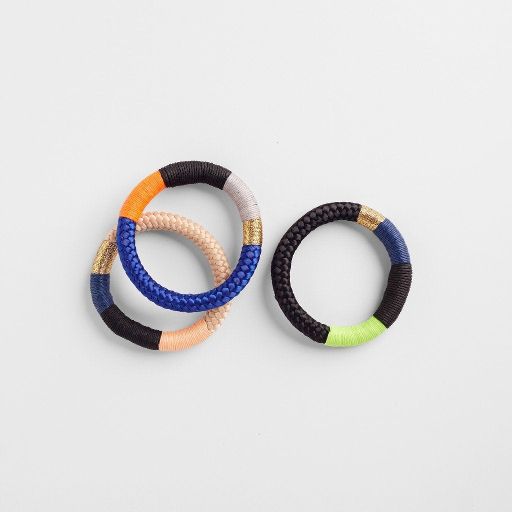 THIN NDEBELE BRACELET - JEWELRY BY PICHULIK. Intentional and ethical multi coloured bracelets.