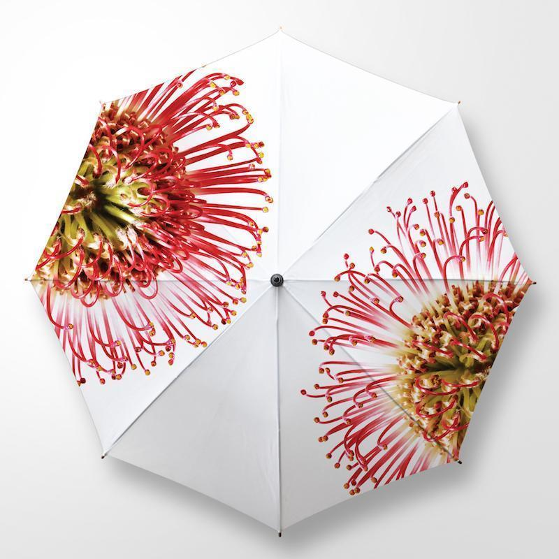 PIN CUSHION UMBRELLA by Clinton Friedman at SARZA. accessories, CF-UMB-PIN-CUS, Clinton Friedman, fashion accessory, rain, UM004, umbrella, umbrellas