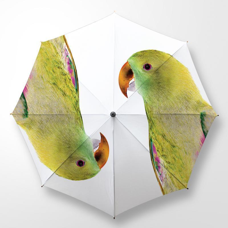 CLINTON FRIEDMAN USA NEW YORK BIRDS OF PARADISE UMBRELLA