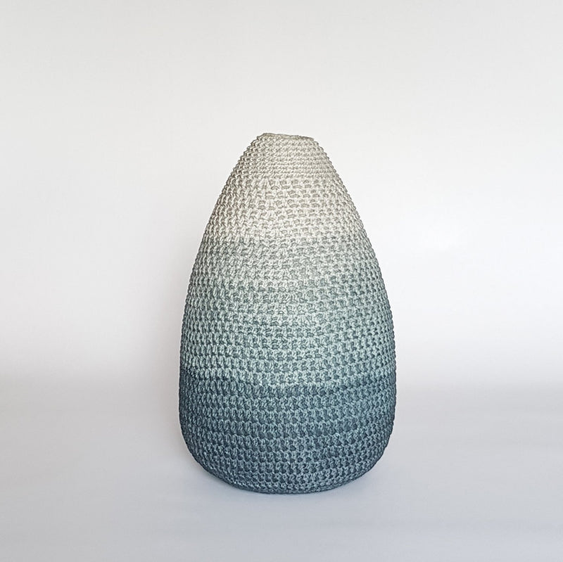 MEDIUM POD-SHAPED VESSEL by Enlightenme Home Decor at SARZA. decor, enlightenme, enlightenme decor, homeware, medium, pod, recycled paper, V02, vase, VASES, vessel