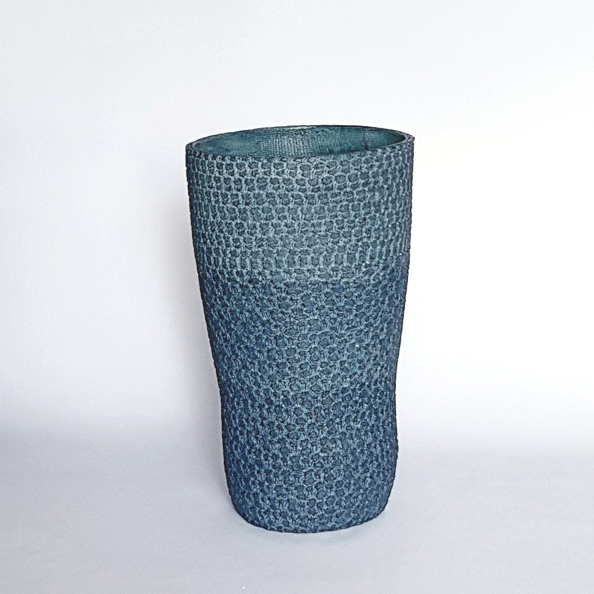 LARGE ASYMMETRICAL VASE by Enlightenme Home Decor at SARZA. asymmetrical, decor, enlightenme, homeware, large, recycled paper, V13b, vase, VASES
