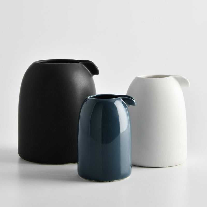 PENGUIN JUG MEDIUM by Vorster & Braye at SARZA. Ceramics, Decor, homeware, jug, penguin, tableware, Vorster&Braye