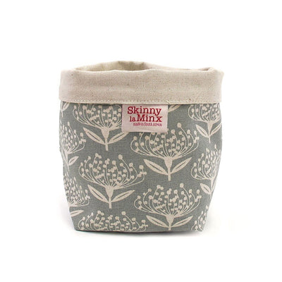 PINCUSHION SOFT BUCKET by Skinny LaMinx at SARZA. homeware, Pincushion, planters, Skinny laMinx, soft bucket, soft buckets, storage