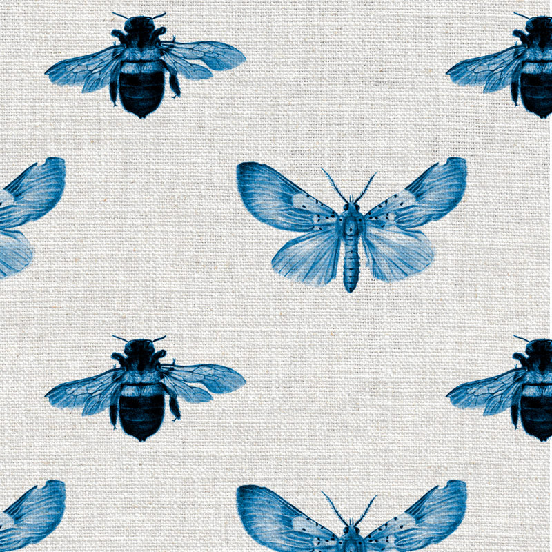 Bee and Moth Blue