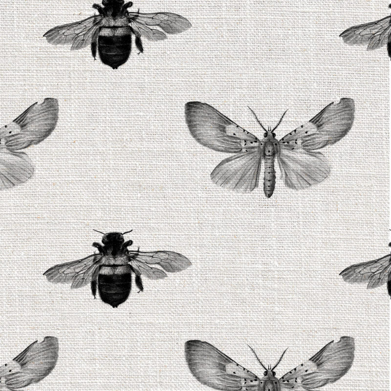 Bee and Moth Grey