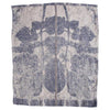 EVOLUTION PRODUCT NEW YORK USA WINTER LEAF JAQUARDED GUEST TOWEL