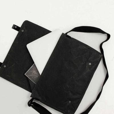 WREN USA NEW YORK PAPER AND COTTON MESSENGER BAG