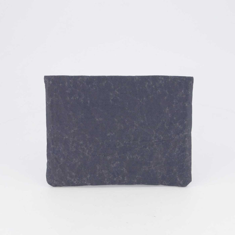 MINI SLEEVE SMOKE BLUE by Wren at SARZA. accessories, clutch, Evolution & Wren Collab, flame, iPad accessories, iPad mini sleeve, Ipad sleeves, mini sleeve, recycled material, smoke blue, Wren