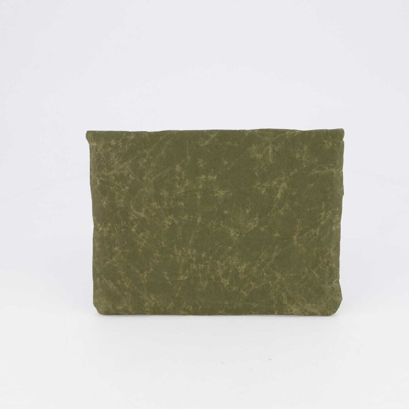 MINI SLEEVE RACING GREEN by Wren at SARZA. accessories, clutch, Evolution & Wren Collab, iPad accessories, iPad mini sleeve, Ipad sleeves, mini sleeve, recycled material, Wren
