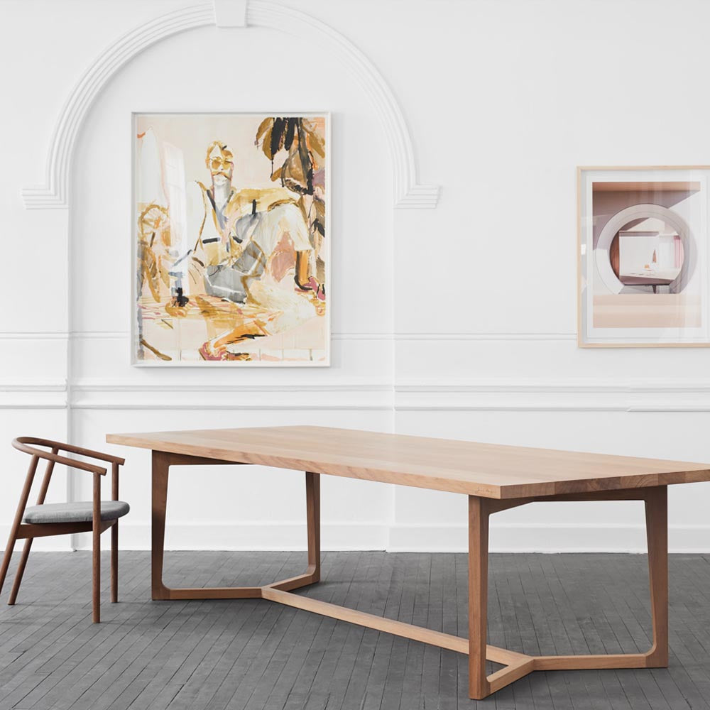 Y TABLE by James Mudge at SARZA. dining tables, furniture, James Mudge, tables, Y tables
