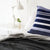 CHARCOAL INTERLACE BED COVER by Mungo at SARZA. bed cover, bed covers, blankets, interlace, linens, mungo, throw, throws