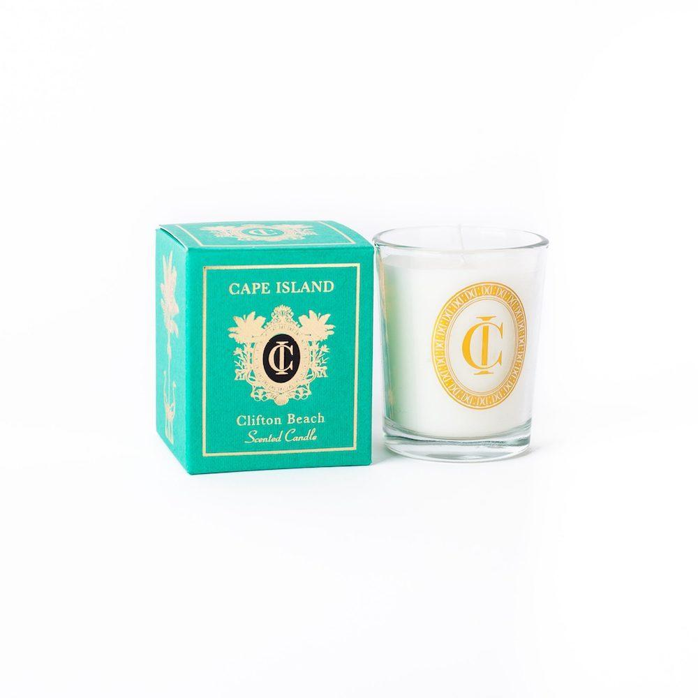 CLIFTON BEACH CANDLE MINI by Cape Island at SARZA. candles, Cape Island, Clifton Beach, decor, homeware, mini, Soy candles