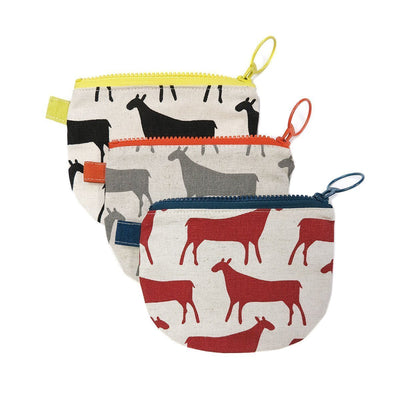 HERDS CHANGE PURSE by Skinny at SARZA. accessories, bags, change purse, change purses, herds, purses, Skinny laMinx