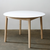 TAPERED LEG ROUND TABLE by James Mudge at SARZA. dining tables, furniture, James Mudge, round, Round Tables, tables, Tapered Leg