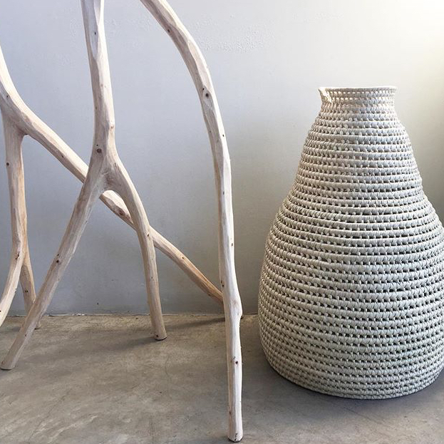 NATURAL DECORATIVE VESSEL by Perfect_IMperfect at SARZA. baskets, decor, Decorative Vessel, homeware, Perfect_IMperfect, Vessels