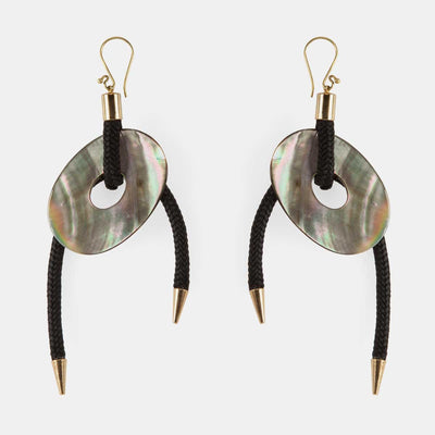 SHIELD EARRINGS BY PICHULIK JEWELRY. Intentional and ethical Jewelry, handcrafted in Cape Town, South Africa.