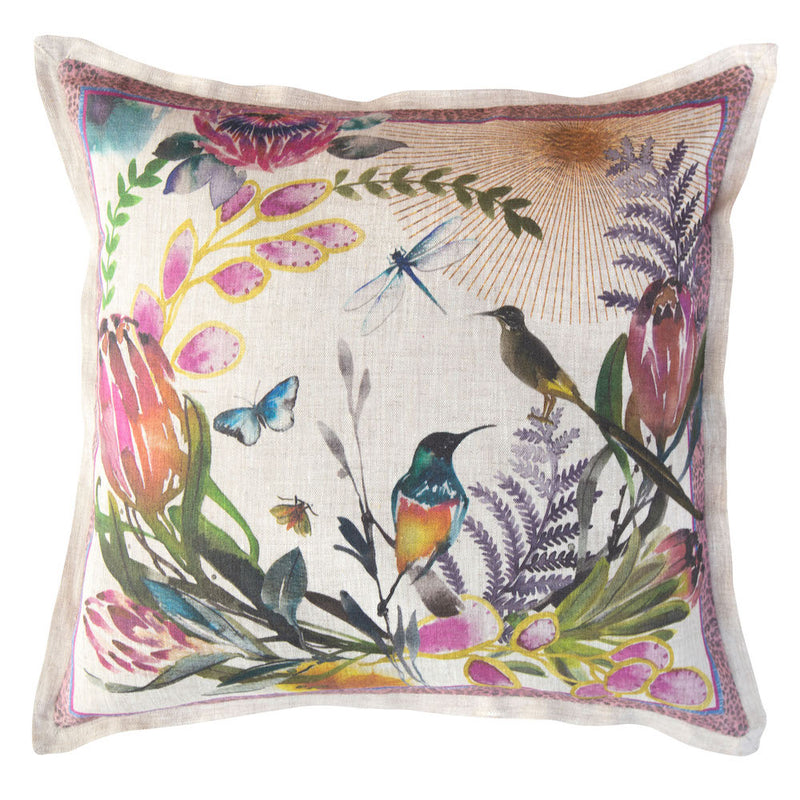 COLOR FYNBOS THROW PILLOW