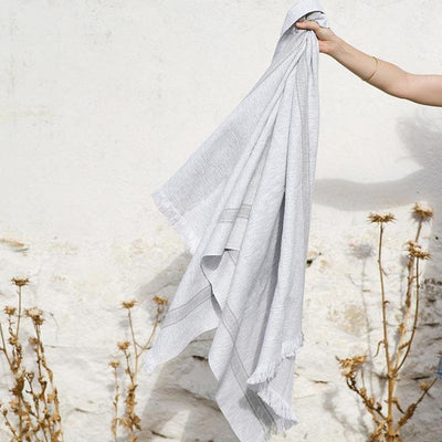 MUNGO USA NEW YORK GREY SUMMER TOWEL