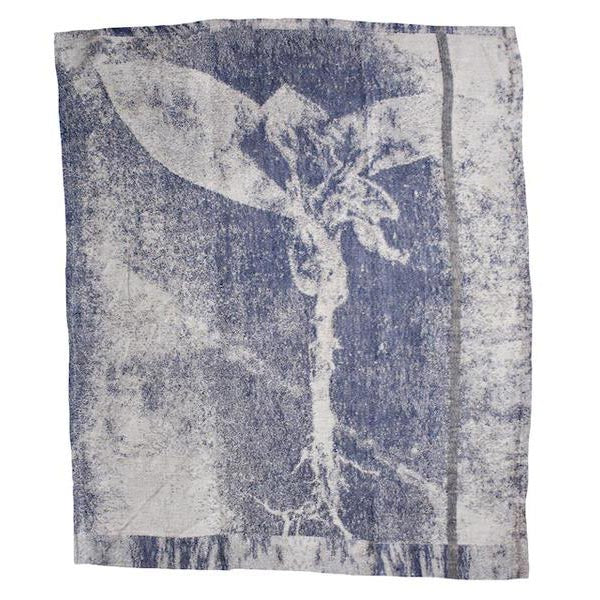 EVOLUTION PRODUCT USA NEW YORK GROEN TAK JAQUARDED GUEST TOWEL