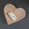 HEART PLATE by Coco Africa at SARZA. Coco Africa, heart, plate, serving boards, serving plates, tableware, wood