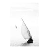 ILHA_01 BY DAVID BALLAM. Dhow, Ilha de Moçambique. This artwork is from the Ilha Collection by South African fine arts photographer David Ballam. It features a beautiful seascape view of fishermen at work.