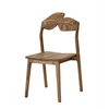 The Knot Dining Chair by Meyer Von Wielligh is another collector's chair that displays a naivety and playfulness in a solid oak, contemporary design.