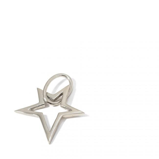 LUCKY STAR PENDANT - JEWELRY BY KIRSTEN GOSS. Hand cut star shaped pendant designed to attach to the signature lifesaver necklaces. Beautifully handmade in Sterling Silver