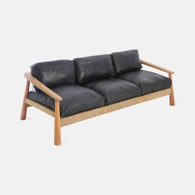VOGEL DESIGN USA NEW YORK MAGNET COUCH 3 SEAT