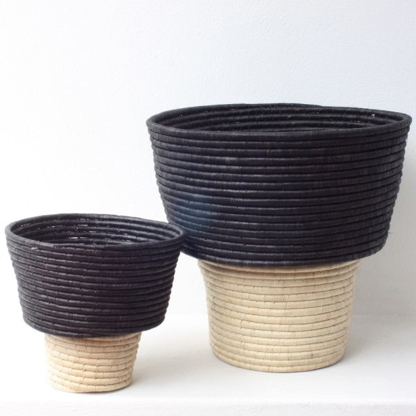 MILK PAIL BASKET by Design Afrika at SARZA. basket, baskets, Decor, Design Afrika, Homeware, milk pail, planters