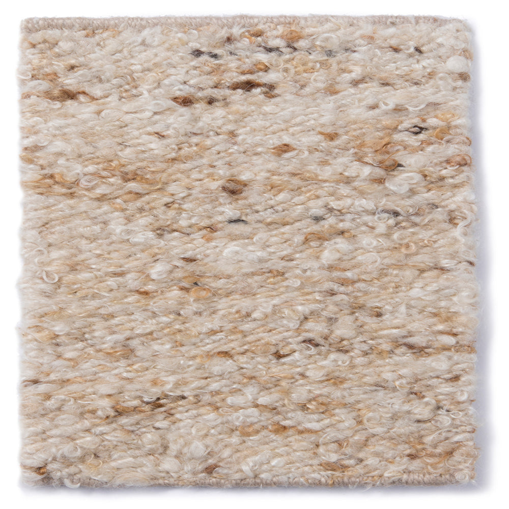 NATURAL MOHAIR RUG