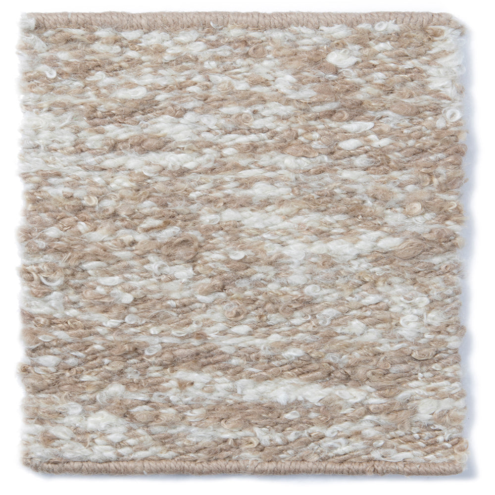 SAND PEARL MIX MOHAIR RUG