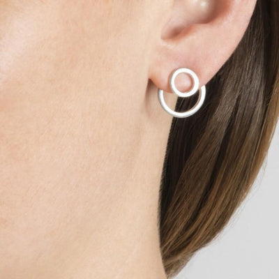 KIRSTEN GOSS POPPER EARRINGS USA NEW YORK