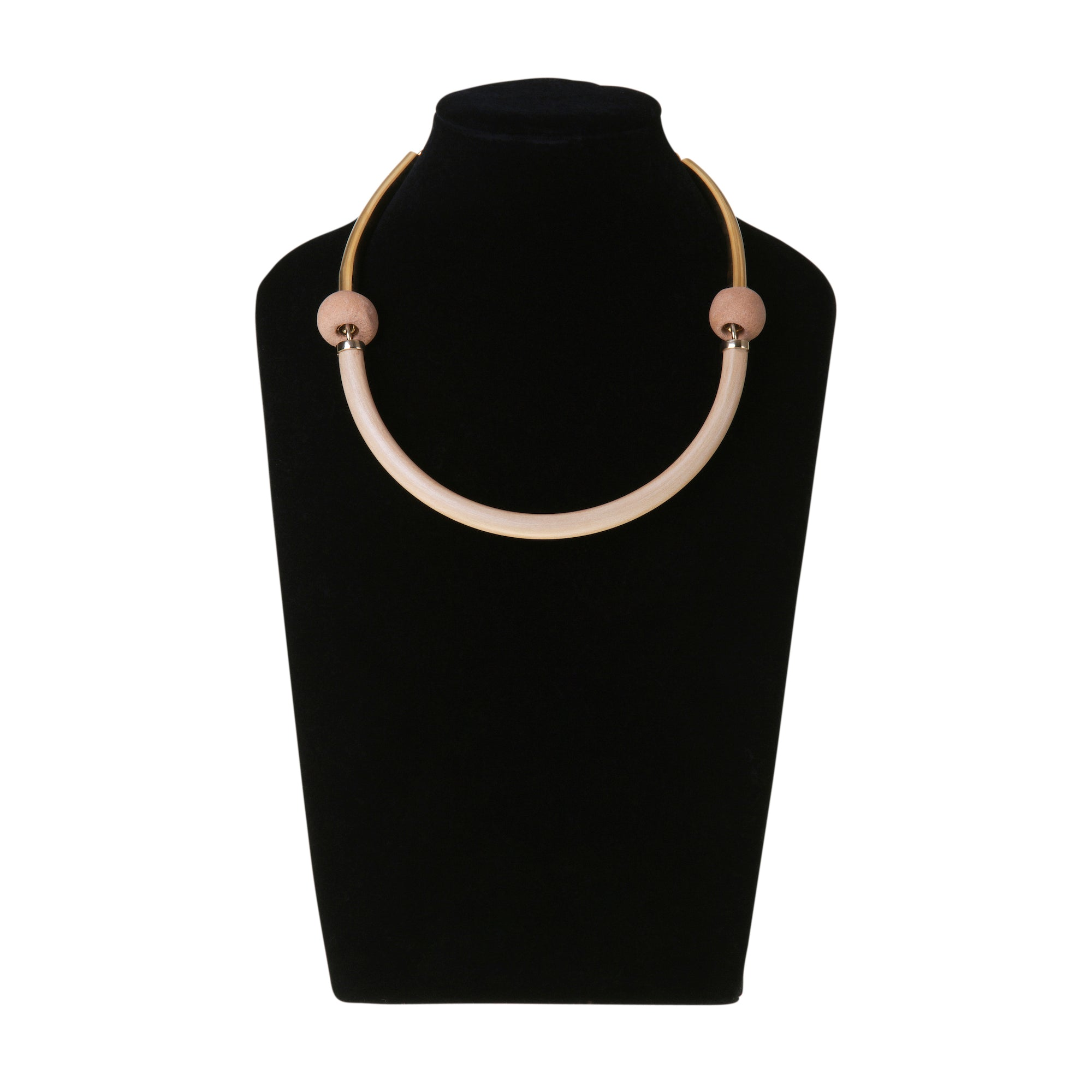 OKAME NECKLACE BLACK by Henriette Botha at SARZA. accessories, Henriette Botha, jewellery, jewelry, necklaces, OKAME